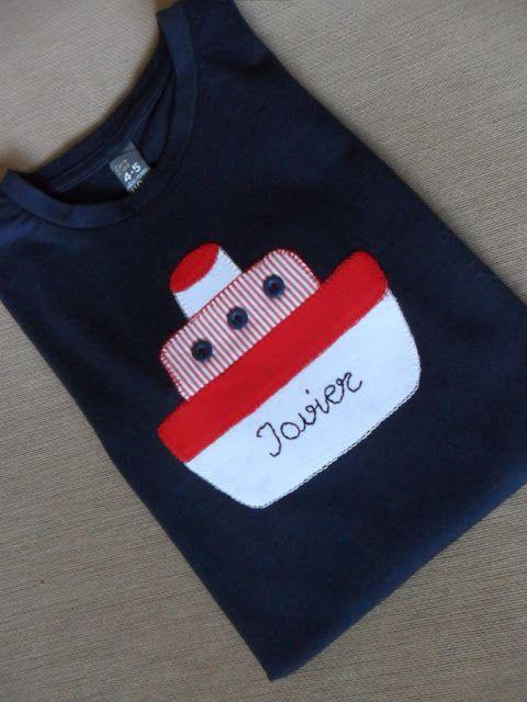 la sastrecilla valiente : camiseta barco niño