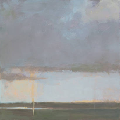 Violet Sky II by Kim Coulter www.thornwoodgallery.com