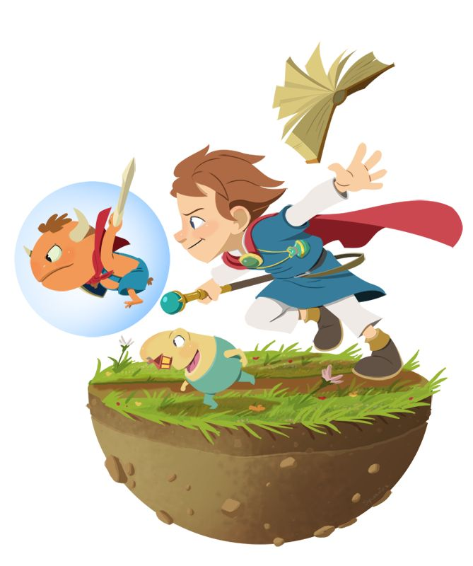 Ni No Kuni by msynowicz.deviantart.com on @DeviantArt ★ Find more at http://www.pinterest.com/competing/