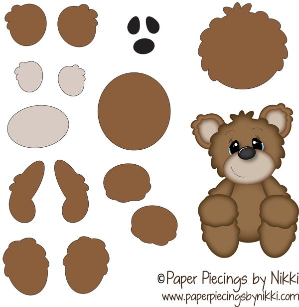 121 Best Images About Card Paper Piecing On Pinterest