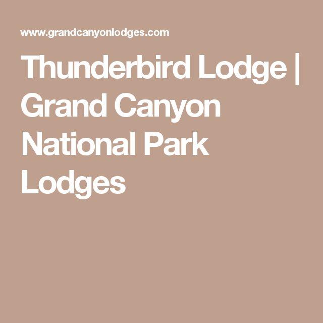 Thunderbird Lodge | Grand Canyon National Park Lodges