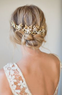 The Most Beautiful Bridal Hairstyle and Bride Makeup Trends 2018