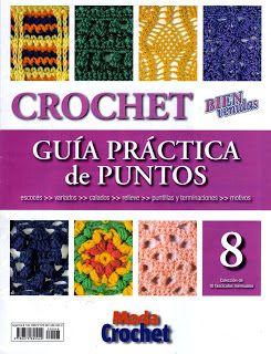 Tina's handicraft : crochet stitch No 8 - book ( 50 patterns)