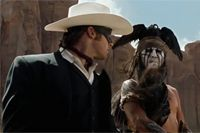 Is Johnny #Depp's portrayal of #Tonto racist? Tell us what you think the comments section.