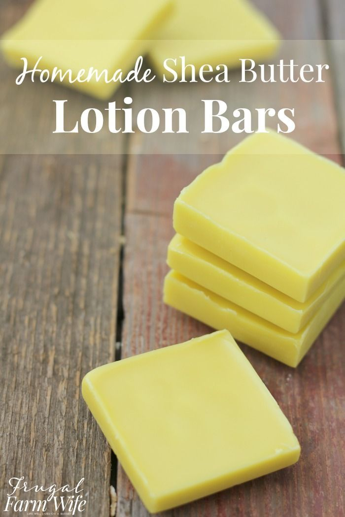 These lotion bars will make your skin so soft, and they're beyond easy to make!