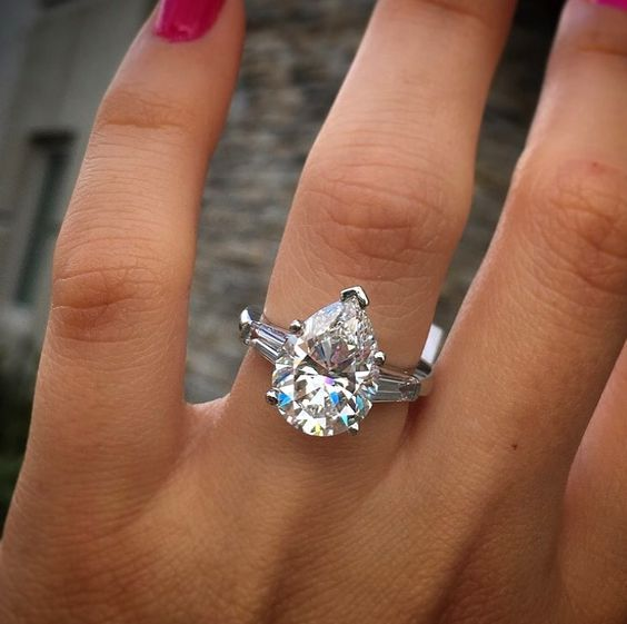 We love Pinterest, it is one of the best places to go for engagement ring  inspiration. I hope you are definitely following @gemhunsf on Pinterest so  you can see all the rings that inspire me daily! Lately Pinterest has been  on fire with lots of love fr
