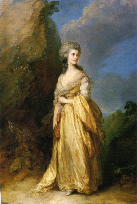 Thomas Gainsborough Mrs. Peter William Baker 1781