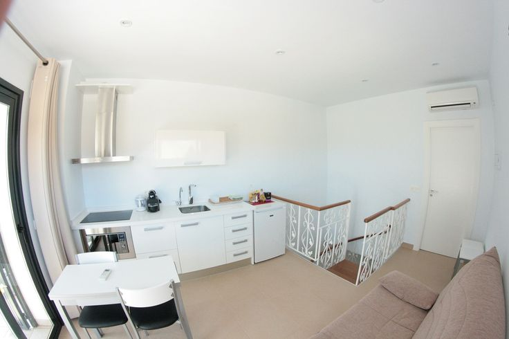 Suite media - Cucina e spazio relax