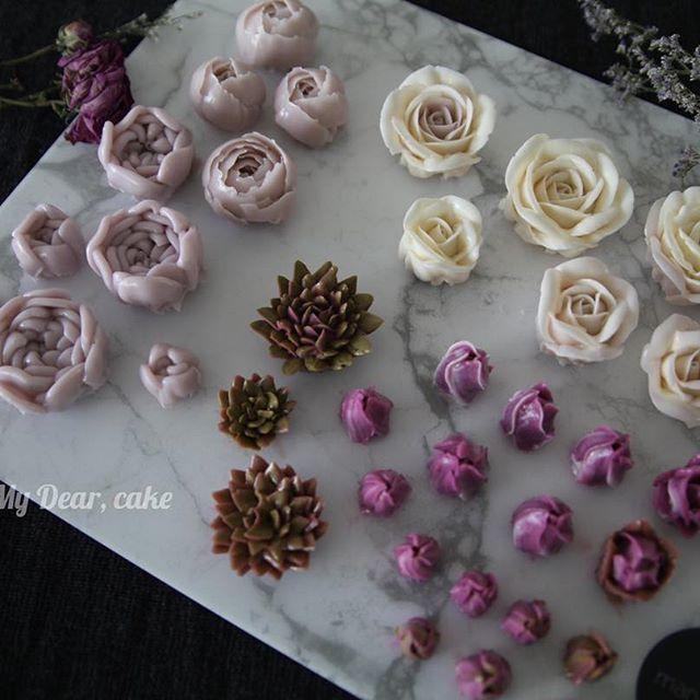 Beautiful Buttercream Flowers