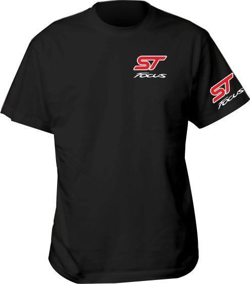 Ford Shirt T Gift Car Inspired Racing Logo Birthday Focus St Blue Mens St Ford Focus St St Blues Ford
