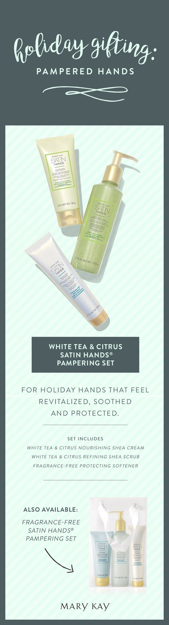 This spa-like treatment revitalizes and rejuvenates the look of hands, so they feel renewed and instantly look healthier