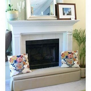 NEED. FANTASTIC way to childproof fireplace hearth.