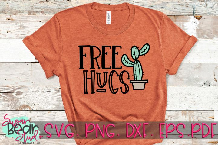Download Free Hugs - A Cactus SVG in 2020 (With images) | Free hugs ...