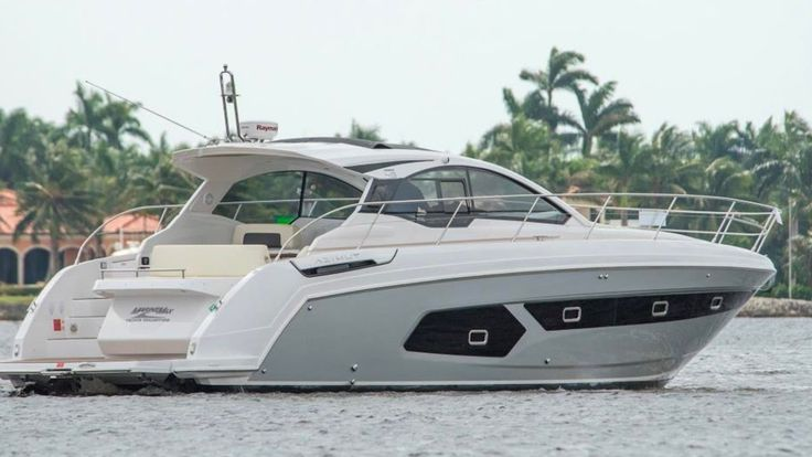 2017 Azimut Atlantis 43 Sport Yacht For Sale at MarineMax Naples something small enough for me to handle