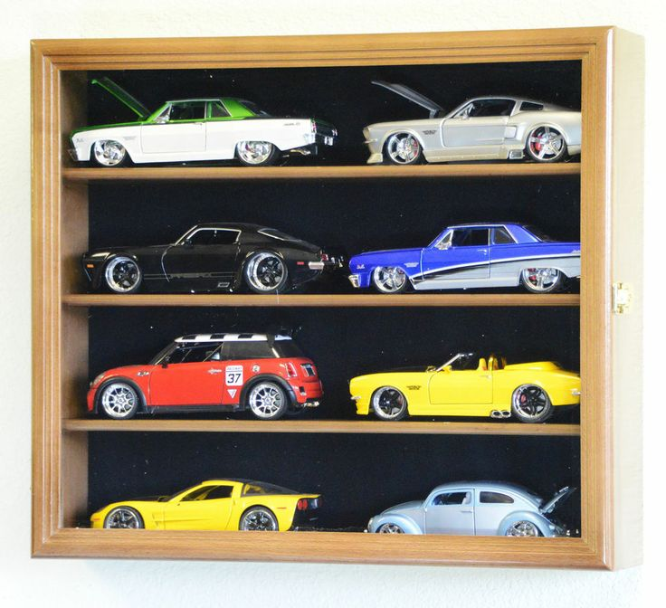 Details About 1/24 Scale Diecast Model Car Display Case