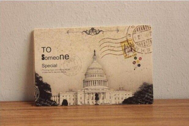 72 шт./лот пейзаж открытки поздравительные открытки подарочные карты старинные бумаги рисование комплект открытка / открытки / подарочные карты / рождественская открытка(China (Mainland))