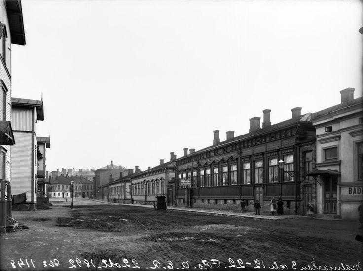 Malminkatu Helsingin kaupunginmuseo A. E. Rosenbröijer 1892.