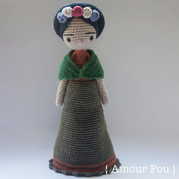 Frida Crochet Pattern by Amour Fou by AmourFouCrochet on Etsy