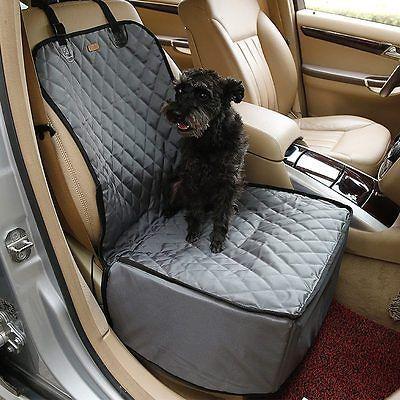 Caliente perro mascota segura de refuerzo de asiento de coche viaje portador Impermeable Cachorro Cesta Jaula