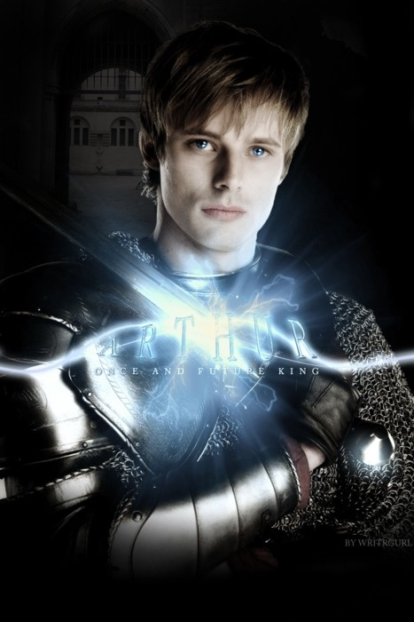 Yes I'm the only person in the USA that watches this show (Merlin)...and yes I think he's a cutie, Prince Arthur