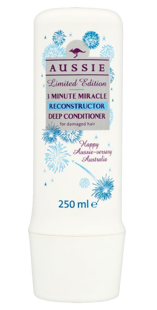 Aussie 3 Minute Miracle Hair Reconstructor Deep Conditioner - Damaged Hair (250ml) ** Visit the image link for more details. #hair