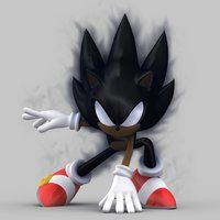 Dark Sonic, Sonic the Hedgehog, Sonic X episode, Testing Time.