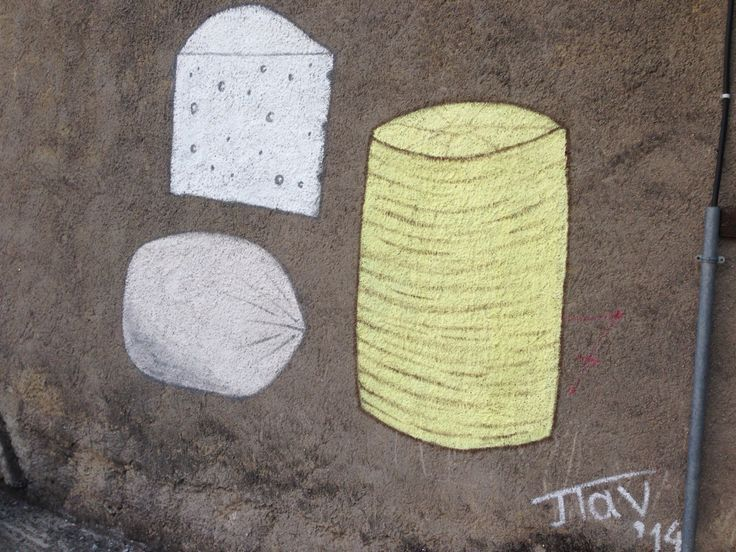 Cheesy street art