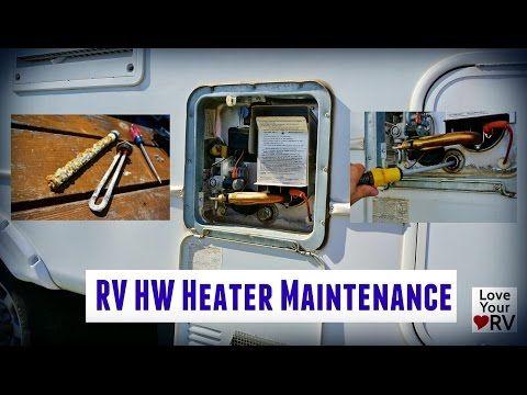 RV Hot Water Heater Maintenance Suburban SW6DE Rv water