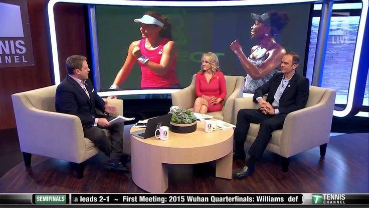 Watch Venus Williams v Johanna Konta LIVE on Tennis Channel Plus! BuyTCPlus.com  Brett, Tracy, and Paul preview the match up: