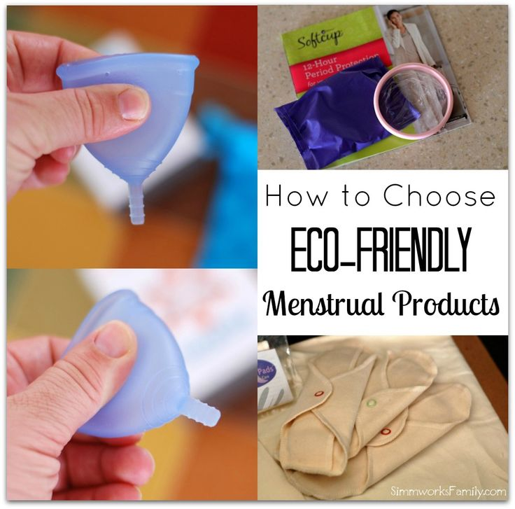 How to Choose Eco Friendly Menstrual Products