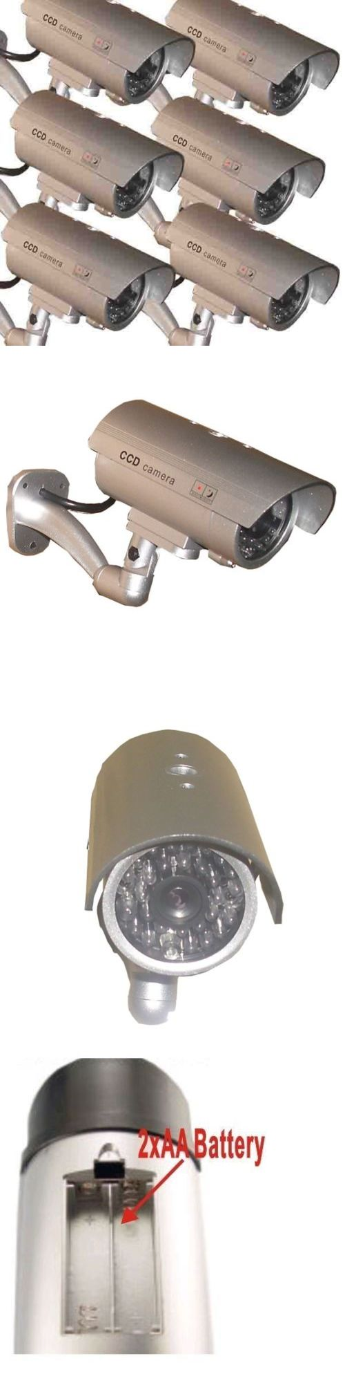 Dummy Cameras: 6X Dummy Security Camera Fake Waterproof Led Light Home Surveillance Outdoor -> BUY IT NOW ONLY: $49.9 on eBay!