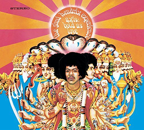 Axis Bold As Love - Jimi Hendrix Experience, LP (Pre-Owned)