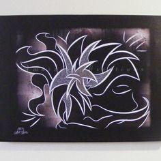 Impression sur toile - 40x30cm - ' songes '