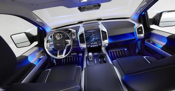 Fords 2015 F-150 Will Be a Game-ChangerGames, Pickup Trucks, Ford F150, Atlas Concept, Auto Show, Ford Atlas, Cars, Interiors, Instruments