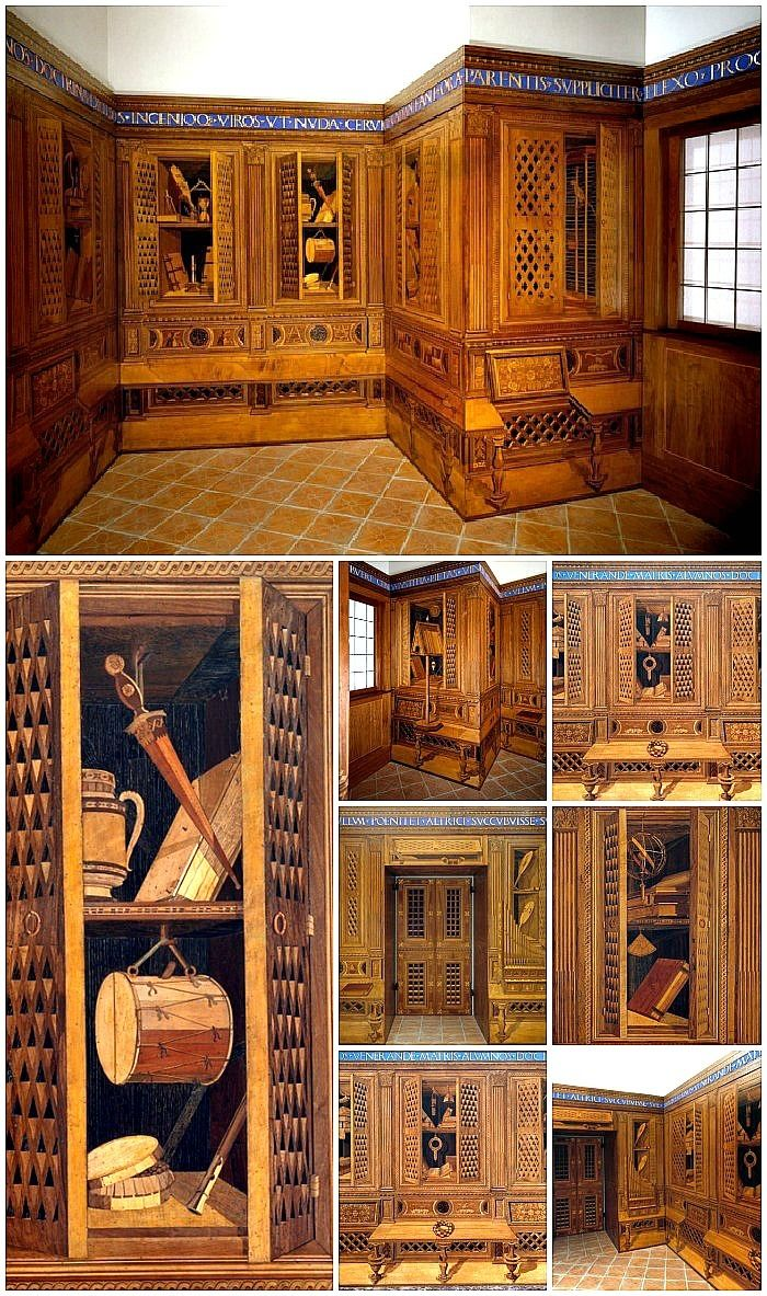 Studiolo of Federico da Montefeltro I The finest Italian Renaissance room in America