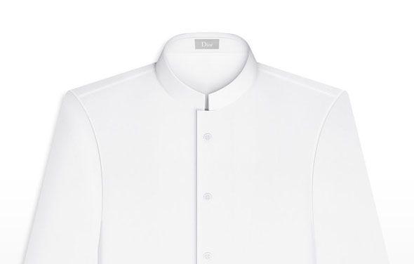 col inversé chemise homme