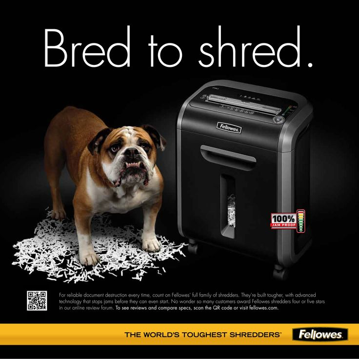 Fellowes - bred to shred