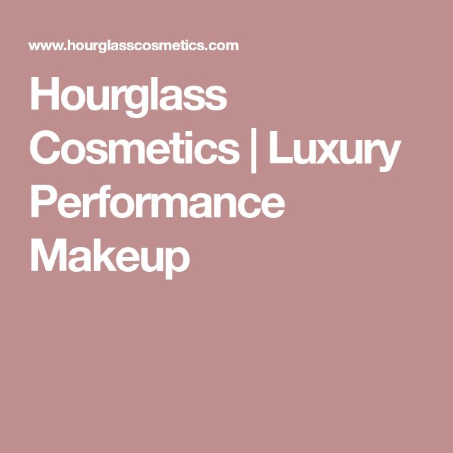 Hourglass Cosmetics | Luxury Performance Makeup