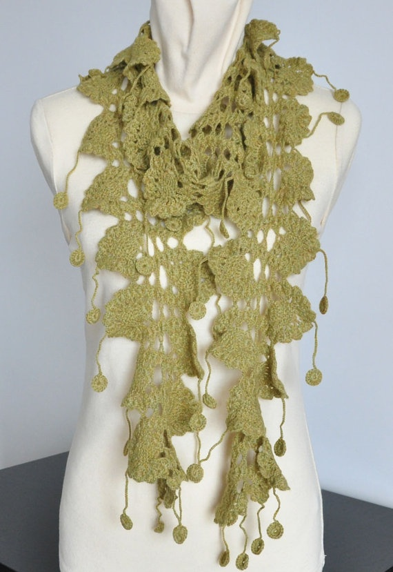 Crochet Scarf Patterns Zigzag : Zig Zag Crochet Scarf Pattern