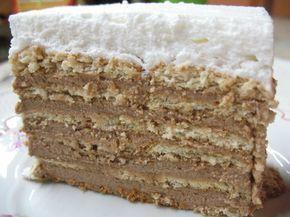 Keks torta starinska - Jednostavan ukus, a pun pogodak. Priprema jednostavna, ali ne mogu reći baš brzačka. No, vredi. Ja sam u odnosu na original dodala šlag krem odozgo, što, naravno, nije pokvarilo celokupan utisak.