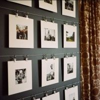 25 Examples Of How To Display Photos On Your Walls   Just Imagine – Daily Dose of Creativity