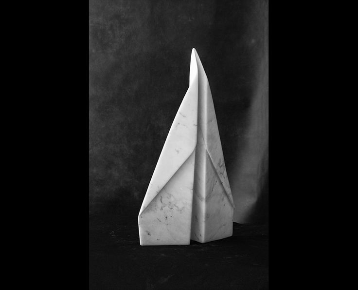 Michal Jackowski, PLANE, 43 x 25 x 5 cm, Carrara white marble, 2015  #sculptures #humans #antique #pinart #creative #passion #love #art #classic #white