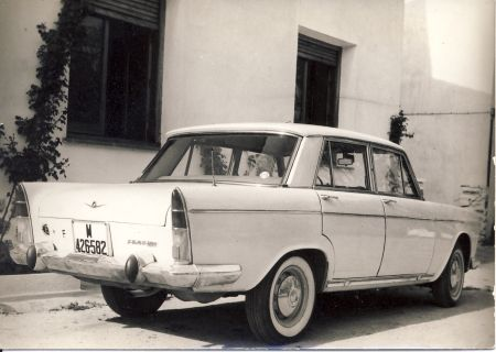 Seat 1500, Andalusia, Spain, 1965