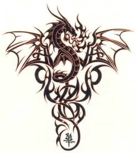 Dragon Tattoos for Women | cute dragon tattoos for women