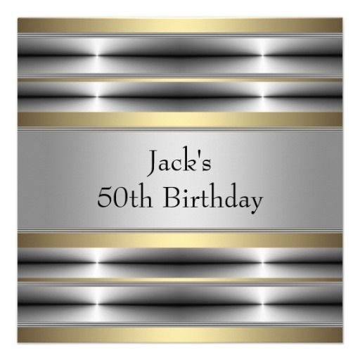 24 Best Images About 50Th Birthday Invitation Templates On