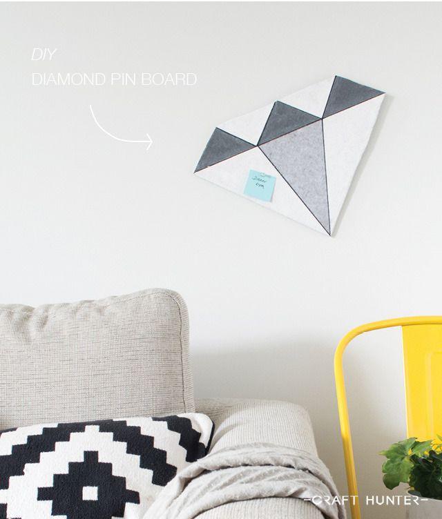 DIYダイヤモンドのピンボード