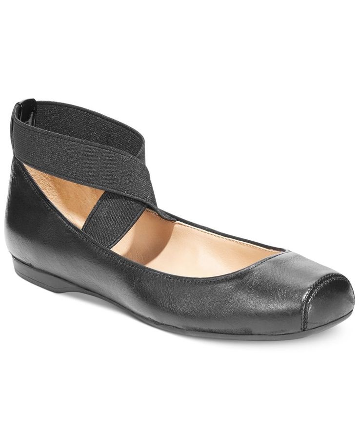 Jessica Simpson Mandalaye Elastic Ballet Flats - Flats - Shoes - Macy's, I have these in pink and love them so much!!!!!