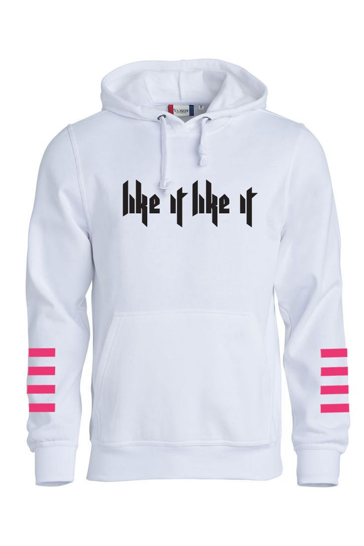 Like It Like It Hoodie - White