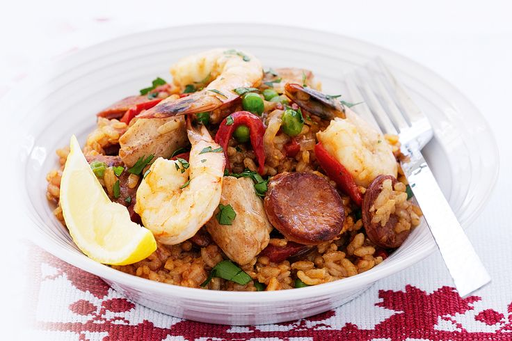 Now is the time to make something new, like this deliciously easy paella!