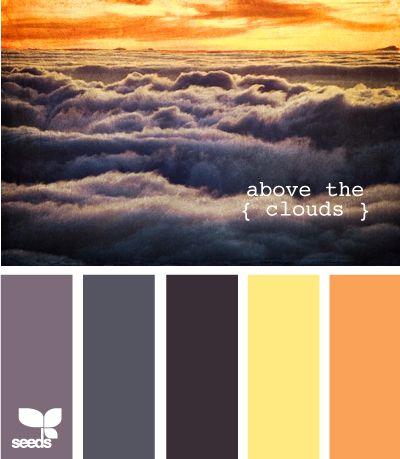 above the cloudsColors Pallets, Color Palettes, Design Seeds, Color Pallets, Colors Palettes, Wedding Colors, Colors Schemes, Clouds Colors, Colors Inspiration